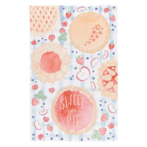 Now Designs Sweet as Pie Tea Towel