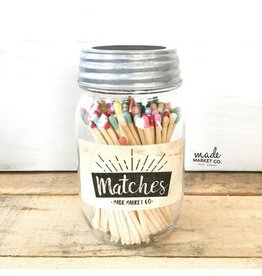 Made Market Matches - Multi Color