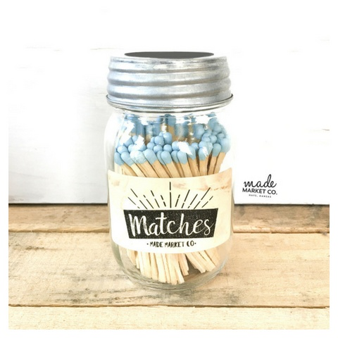 Made Market Matches - Powder Blue