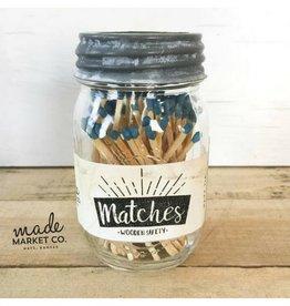 Made Market Matches - Royal Blue