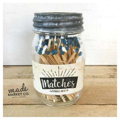 Made Market Matches - Royal Blue