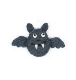 The Foggy Dog Bat Felt Cat Toy