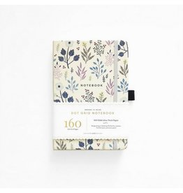 Archer and Olive Fall Flowers Journal, Dot Grid
