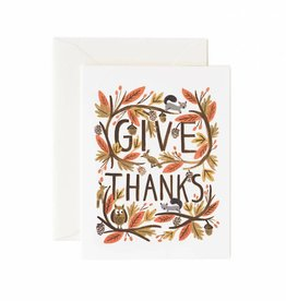 Rifle Paper Thankful Forest