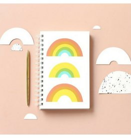Worthwhile Paper Trifecta Notebook, Rainbow