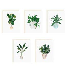 Our Heiday House Plant Card Set
