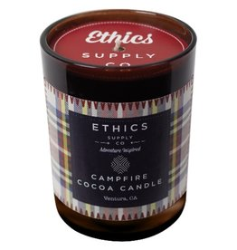 Ethics Supply Campfire Cocoa Candle