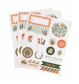 Rifle Paper Holiday Stickers
