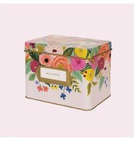 Rifle Paper Juliet Rose Recipe Box