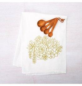 Counter Couture Succulent Tea Towel