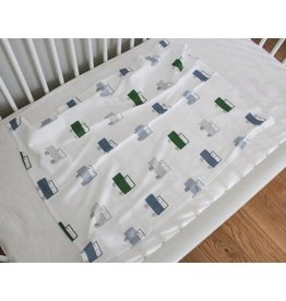 Southern Top Stitch Vintage Cars Crib Blanket