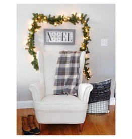 Southern Top Stitch Tahoe Plaid Flannel Throw