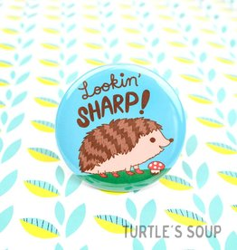 Turtle's soup Lookin' Sharp Pin