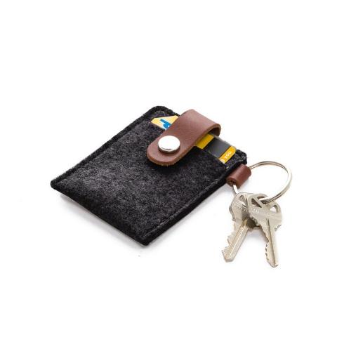 Graf Lantz Key Card Case, Charcoal