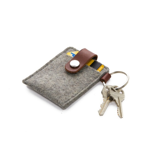 Graf Lantz Key Card Case, Granite