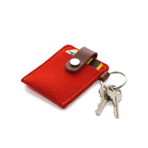 Graf Lantz Key Card Case, Orange