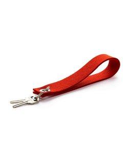 Graf Lantz Loop Key Fob, Orange
