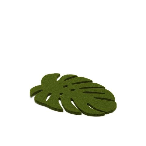 Graf Lantz Leaf Trivet, Dk Green