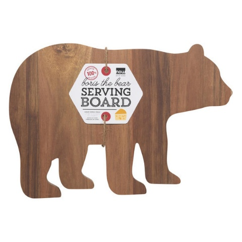 Now Designs Boris Bear Serving Board