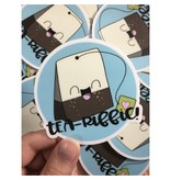 Andrea K Doodles Tea-Riffic Sticker