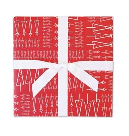 Page Stationery Sketchy Trees Gift Wrap