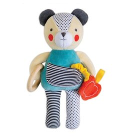 Petit Collage Busy Bear Activity Toy