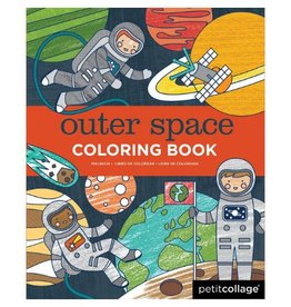 Petit Collage Outer Space Coloring Book