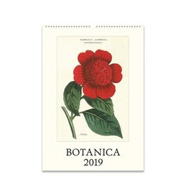 Cavallini Papers 2019 Calendar, Botanica