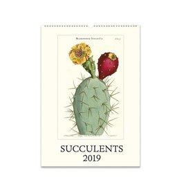 Cavallini Papers 2019 Calendar, Succulents