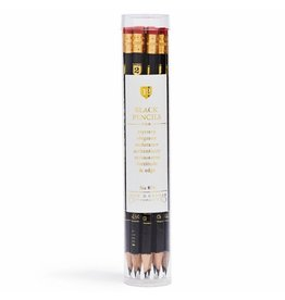 Snow & Graham Black Pencils