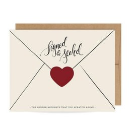 Inklings Signed & Sealed Cards