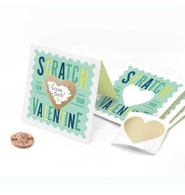 Inklings Scratch-Off Valentines, Mint