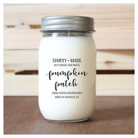 Simply Made Candles Pumpkin Patch