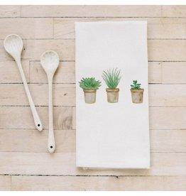 PCB Home Succulent Pots Tea Towel