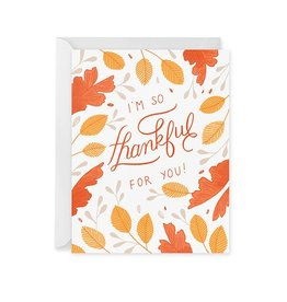 Paper Raven Co. Thankful For You Boxed