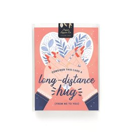 Paper Raven Co. Long Distance Hug Boxed