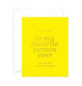 Smitten on Paper Favorite Person