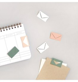 Smitten on Paper Envelope Paperclips