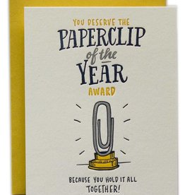 Ladyfingers Letterpress Paperclip of the Year