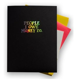 Ladyfingers Letterpress People Folder