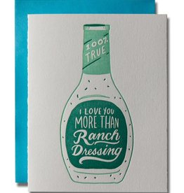 Ladyfingers Letterpress Ranch Dressing