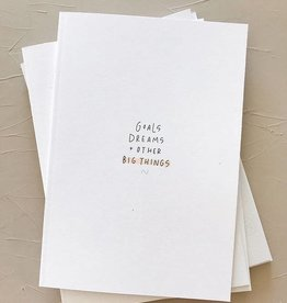 Euni Goal Dreams Notebook