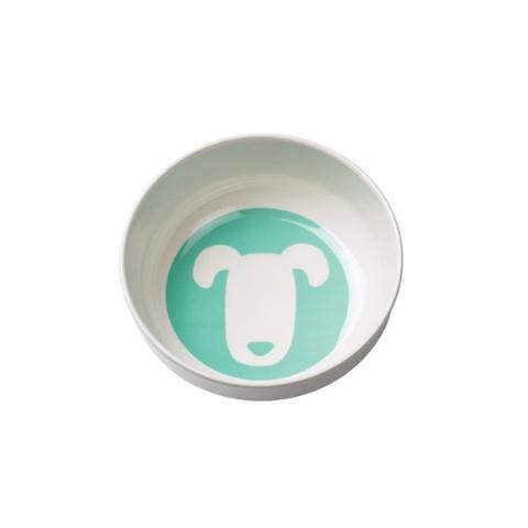 Ore Originals Retro Aqua Dog Bowl