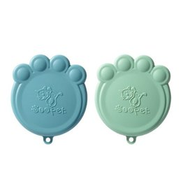 Ore Originals Pet Can Covers, Jade/Dusty Blue