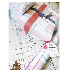 Doe A Deer Holiday Gift Wrap Sheets