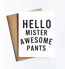 Live Love Studio Mister Awesome Pants