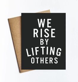 Live Love Studio Rise By Lifting Others Card