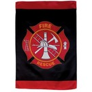 "In the Breeze Flag Fire-Rescue 28"" X 40"""