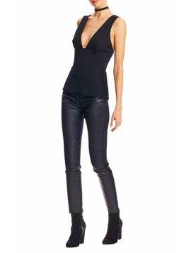 Nicole Miller Leather Leggings