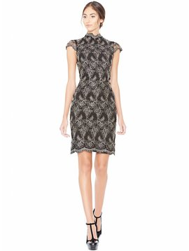 Alice + Olivia Marya Fitted Dress
